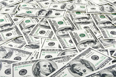 Dollar bank note money background Stock Image