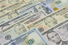 Dollar bank note money Stock Photo