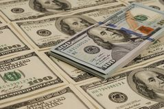Dollar bank note money background Stock Photo
