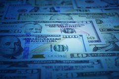 Dollar bank note money for background Royalty Free Stock Photo