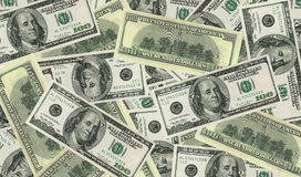 Dollar bank notes. Image showing dollar bank notes background Stock Image