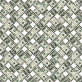 Dollar bank notes stock illustration