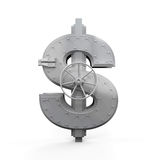 Dollar Bank Safe Stock Images