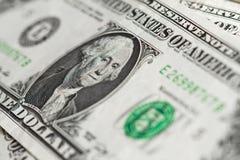 Dollar banknote close up shot Royalty Free Stock Photo