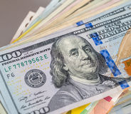 100 dollar banknote Royalty Free Stock Images