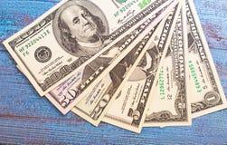 Dollar Banknoten Lizenzfreies Stockfoto