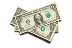 Dollar banknotes Royalty Free Stock Images