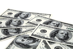 Dollar banknotes Stock Photos