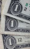 Dollar banknotes Stock Images