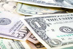 Dollar banknotes background Royalty Free Stock Photo