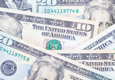 The dollar banknotes Royalty Free Stock Photography