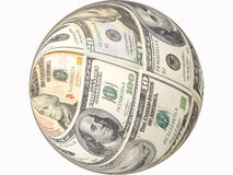 Dollar banknotes concept Stock Images