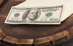 Dollar banks note money Stock Images