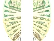 Dollar banner Royalty Free Stock Photo