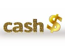 Dollar-Bargeld Lizenzfreies Stockfoto