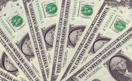 Dollar-Beschaffenheits-Hintergrund Lizenzfreie Stockfotos