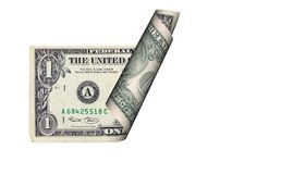 Dollar Bill stock image