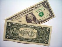 Dollar Bill. Closeup macro on american dollar bill Royalty Free Stock Photos