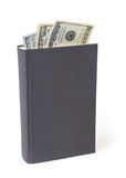 Dollar bill bookmarks Stock Photos
