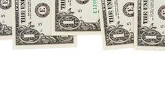 Dollar Bill Border Royalty Free Stock Photo