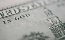 100 dollar bill background. 100 dollar bill, in God we trust background stock photos