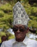 Dollar Bill Hat Royalty Free Stock Image