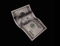 Dollar bill isolated Stock Images