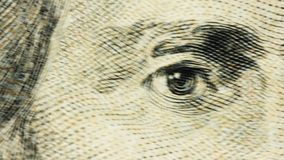 Dollar Bill Macro or Closeup Jackson 20. Dollar Bill Macro or Close up Jackson 20 stock footage