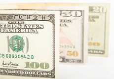 Dollar bills Royalty Free Stock Images