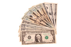 Dollar bills Royalty Free Stock Photography