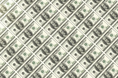 Dollar bills Royalty Free Stock Photos