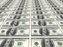 Dollar bills Royalty Free Stock Photography