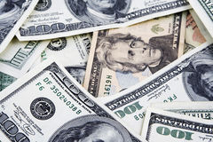 Dollar bills Stock Photography
