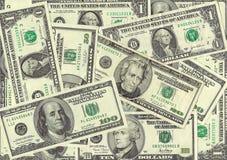 Dollar bills Stock Images