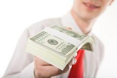 Dollar bills Royalty Free Stock Images