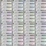 Dollar Bills Abstracted Pattern Royalty Free Stock Photos