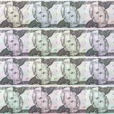 Dollar Bills Abstracted Pattern Royalty Free Stock Image