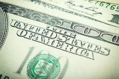 Dollar bills background Stock Photo