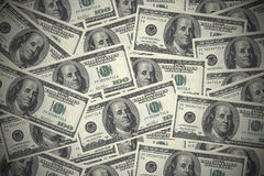Dollar Bills Background Royalty Free Stock Photography