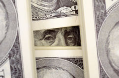 The dollar bills close-up Royalty Free Stock Images