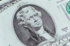 Dollar bills closeup Royalty Free Stock Photography