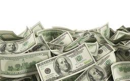 Dollar bills Royalty Free Stock Photos