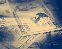 Dollar Bills,Filtered Look Stock Photos