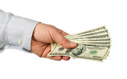 100 dollar bills Royalty Free Stock Image