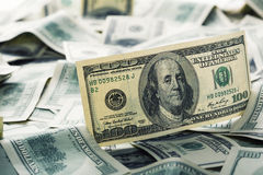 $100 dollar bills Royalty Free Stock Photos