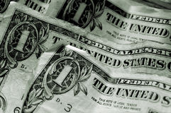 Dollar Bills - Macro Royalty Free Stock Photos