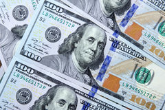 Dollar bills. Usd american dollar bills background Royalty Free Stock Image