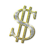Dollar bling Stock Photography