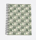 Dollar  Book covered Stock Image