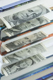 Dollar bookmarks Stock Images